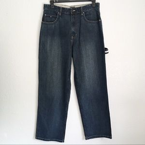 New Tommy Hilfiger Men's Carpenter Blue Jeans 32
